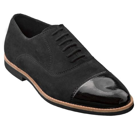 Picture of Laburnum | Black Nubuck/Patent ( Micro Sole) | Sale