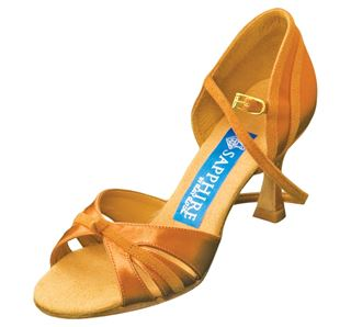 Picture of Orion | L.Tan Satin & Tan Suede | Sale