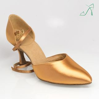 Picture of 103 Sirocco | Flesh Satin | Smooth Dance Shoes