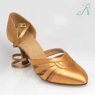 Bild von 104 Nevada | Flesh Satin | Smooth Dance Shoes