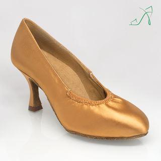 Obrazek 108A Ion | Flesh Satin | Standard Ballroom Dance Shoes