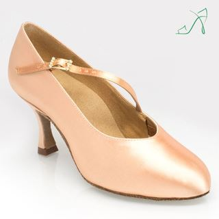 Obrazek 116A Rockslide | Light Flesh | Standard Ballroom Dance Shoes