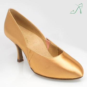 Immagine di 139 Mirage | Flesh Satin | Ballroom Dance Shoe | Sale