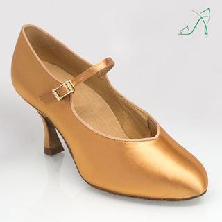 Bild von 146A Serengeti | Flesh Satin  | Standard Ballroom Dance Shoes