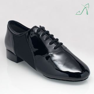 Picture of 323 Tailwind | Black Patent/Lycra | Standard Ballroom Dance Shoes
