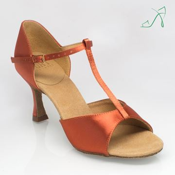Picture of 809 Sahara | Dark Tan Satin | Sale