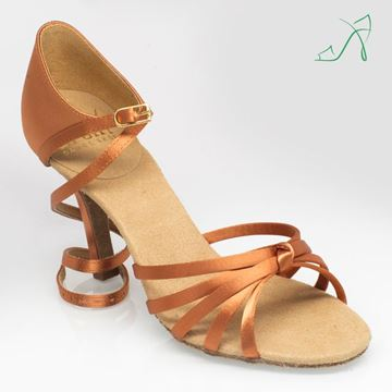 Picture of 825 Drizzle | ULTRA-FLEX | Light Tan Satin | Sale