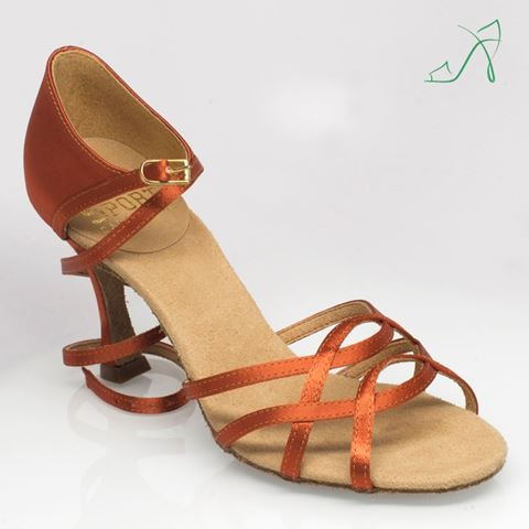 Picture of 840 Gobi | Dark Tan Satin | Sale