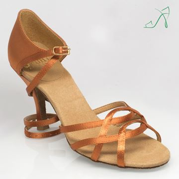 Picture of 840 Gobi | Light Tan Satin | Sale