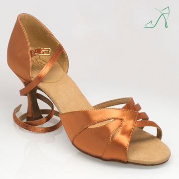 Picture of 877 Haze | ULTRA-FLEX | Light Tan Satin | Sale