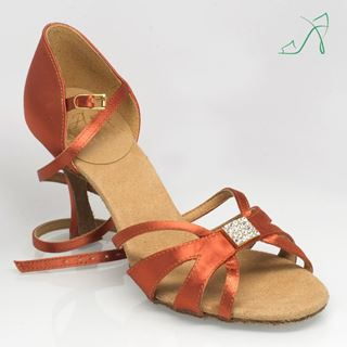 Picture of 889 Tropic | Dark Tan Satin | Sale