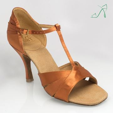 Bild von C111 Carmen | Light Tan Satin | Sale