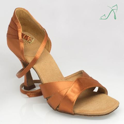 Imagen de C333 Carmen 3 | Light Tan Satin | Sale