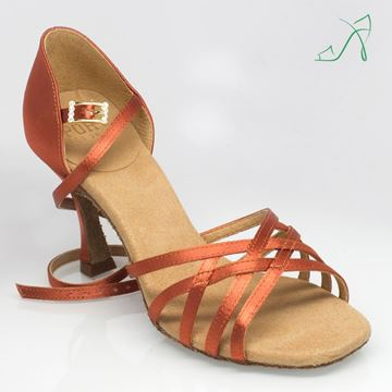 Picture of H860-S Kalahari Sport | ULTRA-FLEX | Dark Tan Satin | Sale