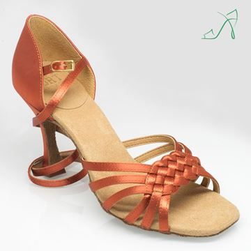 Picture of H869 Moonglow | ULTRA -FLEX | Dark Tan Satin | Sale
