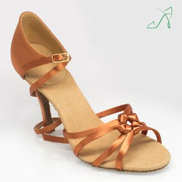 "Obrazek 820 Blizzard | ULTRA-FLEX | Light Tan | 3"" Flared Heel 