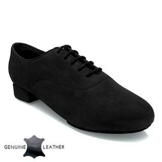 Bild von 335  Windrush | Black Nubuck Leather  | Standard Ballroom Dance Shoes
