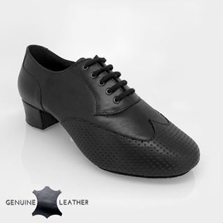 Picture of 318 Adolfo Black Leather | Salsa Dance Shoes
