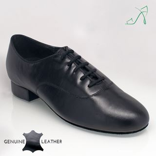 Bild von 330 Sandstorm | Black Leather | Standard Ballroom Dance Shoes
