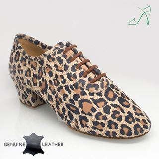 Obrazek 415 Solstice | Leopard Print Leather