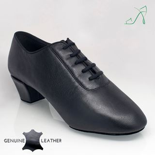 Picture of 460 Thunder | Black Leather | Latin Dance Shoes