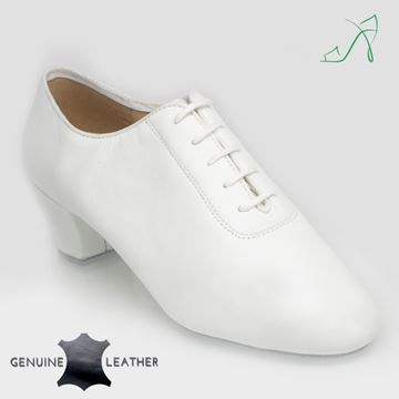 Immagine di 460 Thunder | White Leather | Men's Latin Dance Shoe | Sale