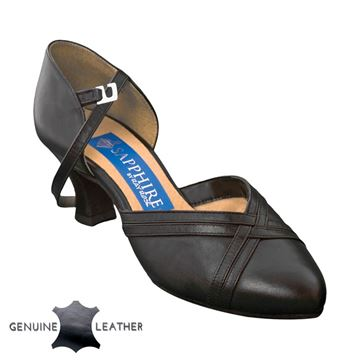 Picture of Geranium | Black Leather | Sale
