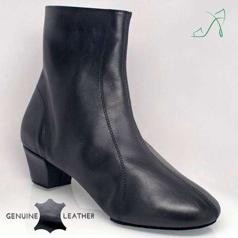 Bild von S111 Stylianos Boot | Black Leather | Sale