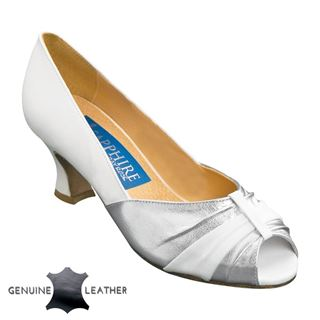 Picture of Rose | Silver Leather/White Leather | Sale