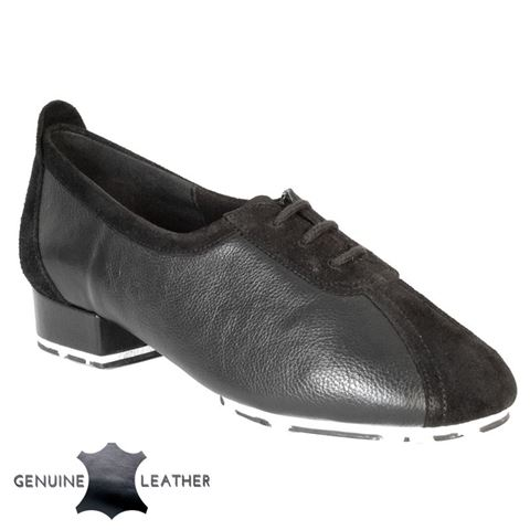 Immagine di P111 Black Leather/Suede - Star Sole | Sale
