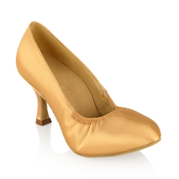 Bild von 108A Ion | Flesh Satin | Standard Ballroom Dance Shoes