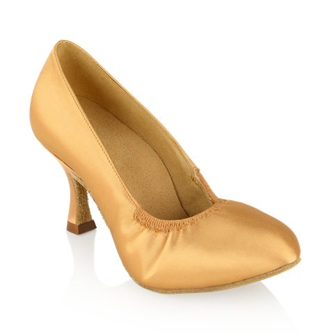 Obrazek 108A Ion | Flesh Satin | Standard Ballroom Dance Shoes