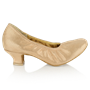 Obrazek 112 Ans | Flesh Lustre Leather | Standard Ballroom Dance Shoes
