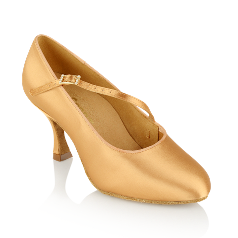 Immagine di 117A Stratus | Flesh Satin | Standard Ballroom Dance Shoes | Sale