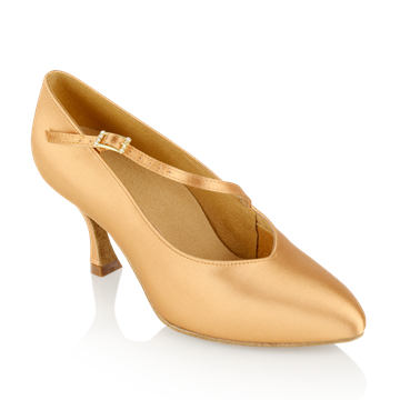 Bild von 119A Nimbus | Flesh Satin  | Standard Ballroom Dance Shoes