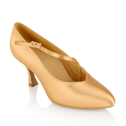 Picture of 119A Nimbus | Flesh Satin  | Standard Ballroom Dance Shoes | Sale