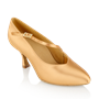 Picture of 119A Nimbus | Flesh Satin  | Standard Ballroom Dance Shoes