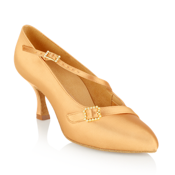 Immagine di 129A Savannah | Flesh Satin | Standard Ballroom Dance Shoes | Sale