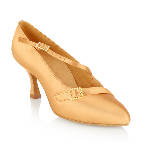 Picture of 129A Savannah | Flesh Satin | Standard Ballroom Dance Shoes | Sale