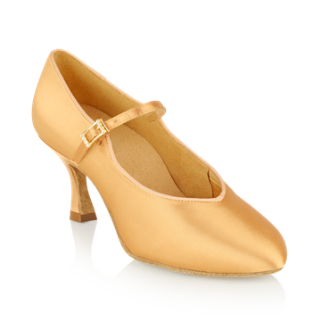 Imagen de 146A Serengeti | Flesh Satin  | Standard Ballroom Dance Shoes