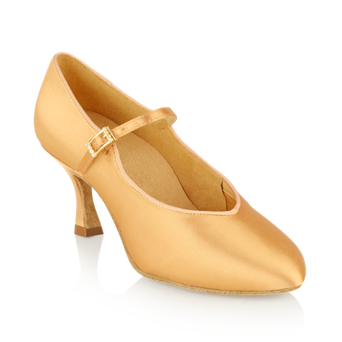 Obrazek 146A Serengeti | Flesh Satin  | Standard Ballroom Dance Shoes