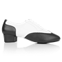 Immagine di 318 Adolfo Black & White Leather | Latin Dance Shoes