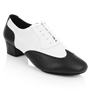 Picture of 318 Adolfo Black & White Leather | Latin Dance Shoes