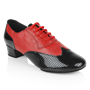 Imagen de 318 Adolfo Black Patent & Red Leather | Latin Dance Shoes | Sale