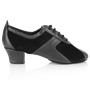 Imagen de 410 Breeze | Black Suede/Black Leather | Practice Dance Shoes