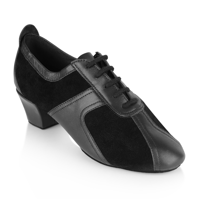 3ceaaa66ad Picture of 410 Breeze | Black Suede/Black Leather | Practice Dance Shoes