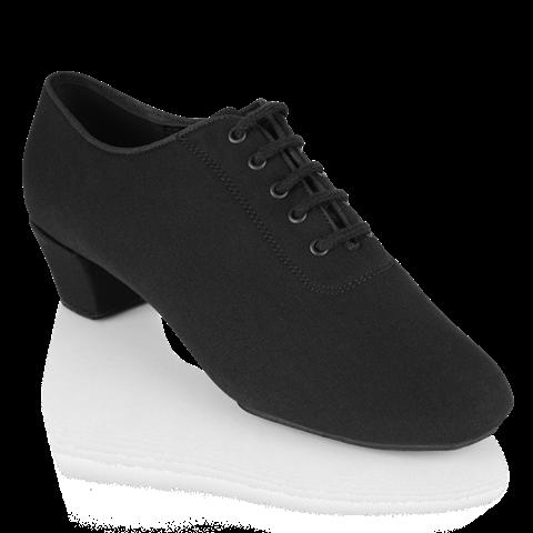 Bild von H460 Thunder | Black Trouser Fabric | Men's Latin Dance Shoes