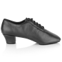 Immagine di H460 Thunder | Black Leather | Latin Dance Shoes