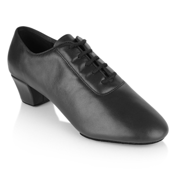 Imagen de H460 Thunder | Black Leather | Latin Dance Shoes