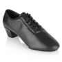 Picture of H460 Thunder | Black Leather | Latin Dance Shoes